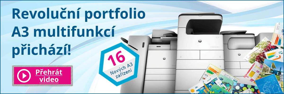 Nové portfolio A3 tiskáren od HP