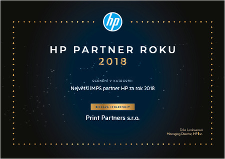 hp partner roku 2018